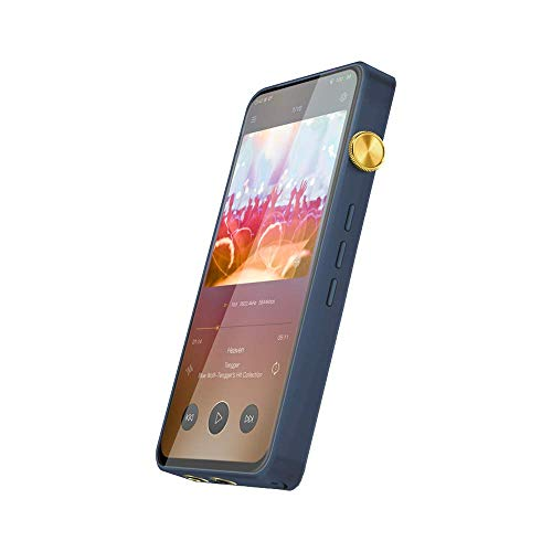iBasso DX300 Digital Audio Player, Hi-Res Audio and Media Player with Dual-Battery Power Supply, 8-Core Processor, 6 GB of RAM, 128 GB (Starry Blue)