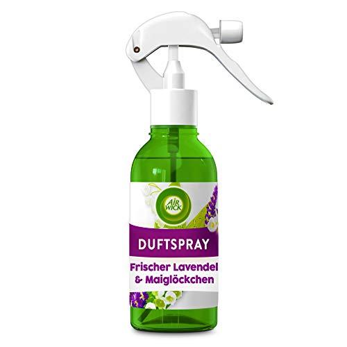 Air Wick Duftspray Frischer Lavendel & Maiglöckchen – Blumig-frisches Raumspray und Lufterfrischer – Geruchsneutralisierend & ohne Treibgas – 1 x 250 ml