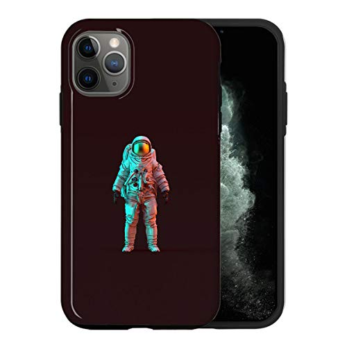 iPhone 11 PRO Case, 3D Modern Astronaut QWE004_4 Case for iPhone 11 PRO Protective Phone Cover, Abstract Funny Gorgeous [Double-Layer, Hard PC + Silicone, Drop Tested]
