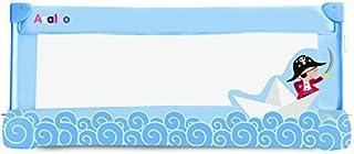 comprar comparacion Asalvo, 12685, Barrera de Cama, 90 cm, Diseño Barquito de Papel, Color Azul