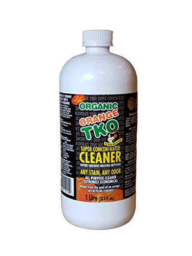 Our #6 Pick is the Organic Orange TKO Super Concentrated All Purpose Cleaner