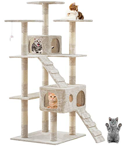 BestPet 73-Inch Cat Tree Scratcher