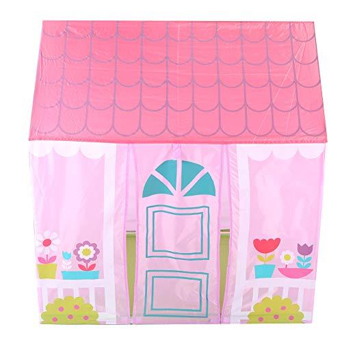 01 Tienda de Juegos para niños, Tipi para niños, Manguera de PVC ecológica Casa de Juegos para niños Salida Segura para Acampar de niñas y niños