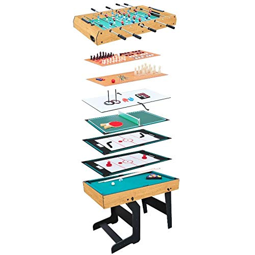 Evostar 4ft 15-in-1 Folding Multi Games Table