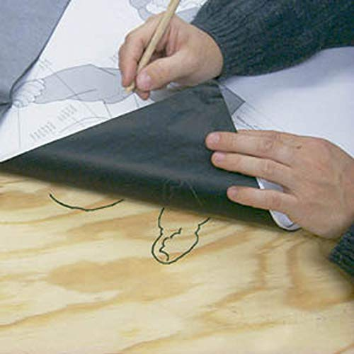 """2 Large Sheets of 26""""x42"""" Carbon Woodworking Transfer Paper"""