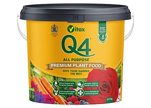 Vitax Ltd Q4 Fertiliser, 4.5 Kg