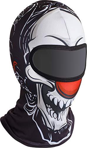 "Soxon SH-2 ""Clown Skull"", Sturm-Haube, Balaclava Ski-Maske Halswärmer Nahtlos"
