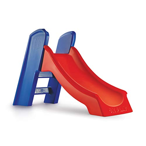Ok Play Slider Ladder, Red/Blue
