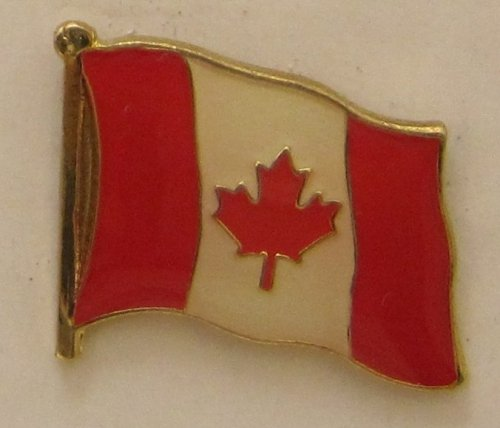 Kanada Pin Anstecker Flagge Fahne Nationalflagge Canada Flaggenpin Badge Button Flaggen Clip Anstecknadel