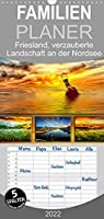 Friesland, verzauberte Landschaft an der Nordsee - Familienplaner hoch (Wandkalender 2022 , 21 cm x 45 cm, hoch): Peter Roder praesentiert eine Auswahl seiner stimmungsvollen Traumbilder aus Friesland. (Monatskalender, 14 Seiten )