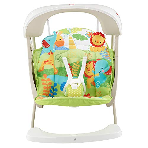 Fisher-Price – Columpio Hamaca Portable 2 en 1