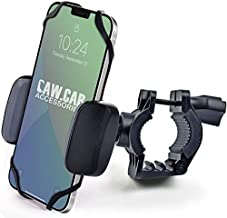 Bike & Motorcycle Phone Mount - for iPhone 12 Pro (11, SE, Xr, Plus/Max), Galaxy s21 or Any Cell Phone - Universal Handlebar Holder for ATV, Bicycle & Motorbike. +100 to Safeness & Comfort