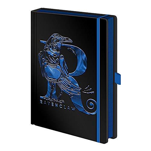 Genuine Harry Potter Ravenclaw House Foil A5 Premium Hardback Journal Notebook Note Pad Hogwarts