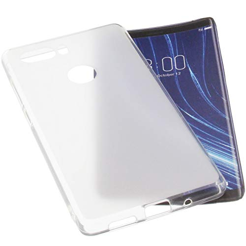 foto-kontor Tasche für Archos Diamond Omega Gummi TPU Schutz Handytasche transparent weiß