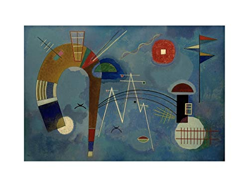 Wassily Kandinsky - Round and Pointed 1930 Print 60x80cm