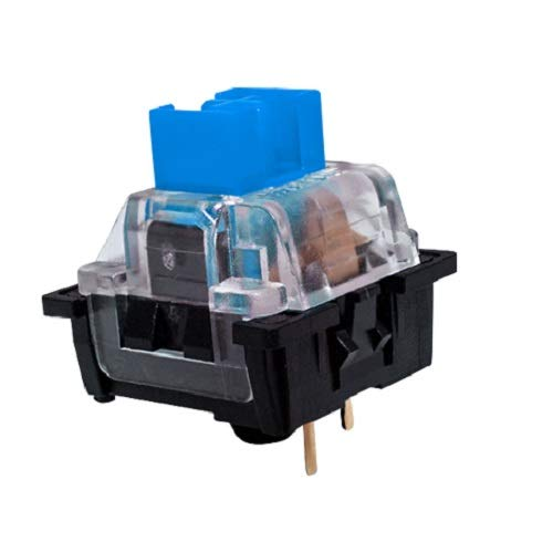 OUTEMU (Gaote) Blue Switch 3 Pin Keyswitch DIY Replaceable Switches for Mechanical Gaming Keyboard (20 PCS) (Blue)