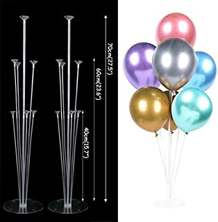 HOT-Ballons & Accessories - LED Lights Balloons Column Stand Table Floating Wedding Decor Balloon Holder Stick Baby Shower...