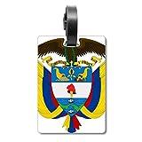 Etiqueta de identificación para Maleta con el Emblema Nacional de Colombia