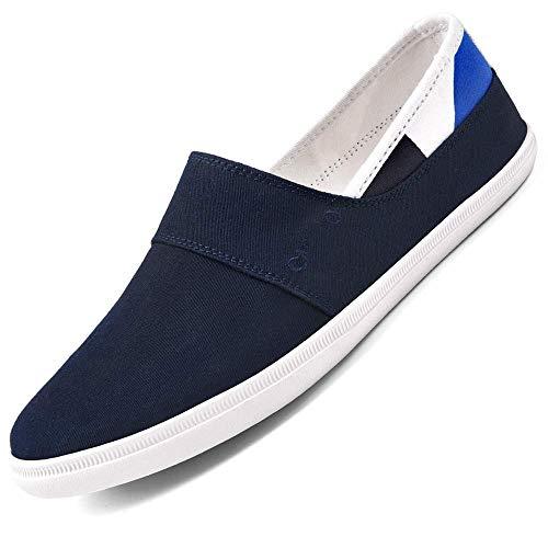 YQ WHJB Summer Men 's Canvas Shoes Versión Coreana Casual de The Trend of Shoes Zapatos Transpirables de Verano