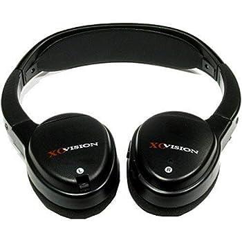 XO Vision IR620 Universal IR Wireless Foldable Headphones for In-Car Video Listening