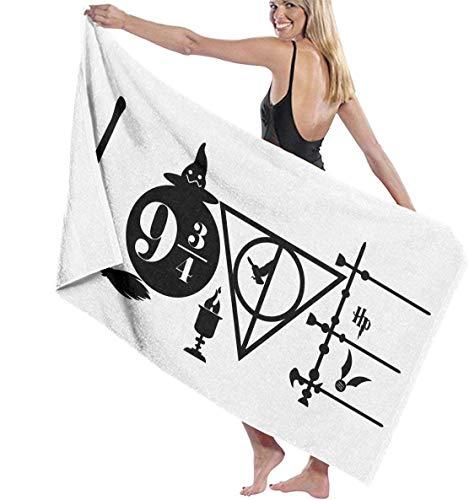 Ewtretr Toalla de Playa Bath Towel 1934 Bath Towels Super Absorbent Beach Bathroom Towels for Gym Beach SWM SPA Hotel Home Ideas Decoration