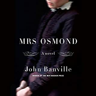 Mrs. Osmond audiobook cover art