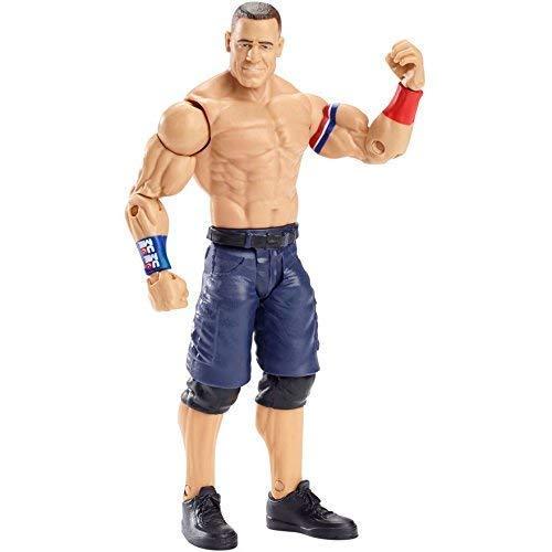 John Cena WWE Superstar 12in 30cm Wrestling Action Figure Mattel Orange Wristban