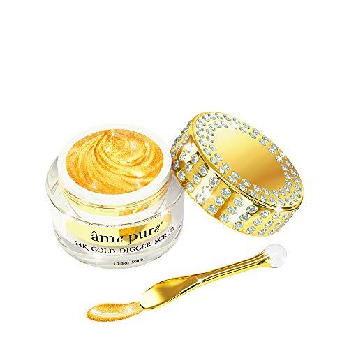 âme pure® 24K Gold Digger Scrub esfoliante 100% formula naturale con...