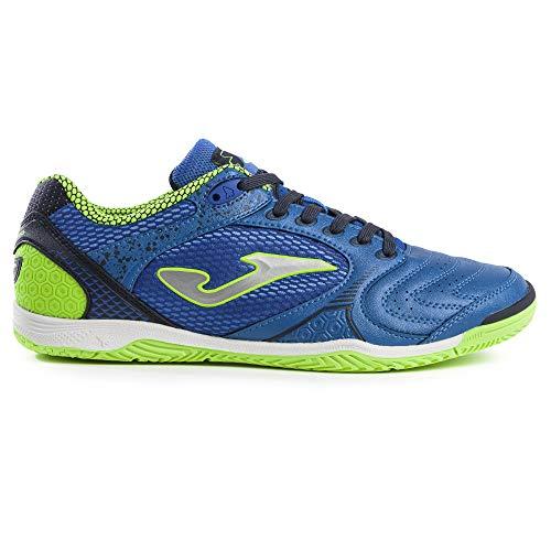 Joma Zapatos de fútbol para hombre Dribling ID, azul (Azul Rey/Amarillo Fluoro), 43 EU