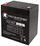 VICI Battery 12V 5Ah Chamberlain 41A6357-1 Garage Door Opener 4228 Standby Brand Product