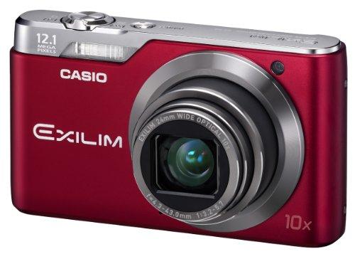 Casio Exilim EX-H5 - Cámara Digital Compacta 12.1 MP (2.7 Pulgadas LCD, 10x Zoom Óptico), Rojo
