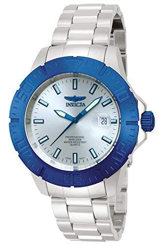 Invicta Men's INVICTA-14051 Pro Diver Analog Display Japanese Quartz Silver Watch