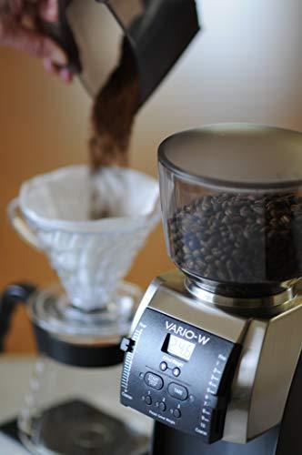 Baratza Vario-W Grind by Weight Flat Burr Coffee Grinder