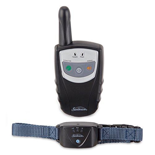 Sunbeam Rechargeable Remote Pet Training Collar, 400-Yard Range