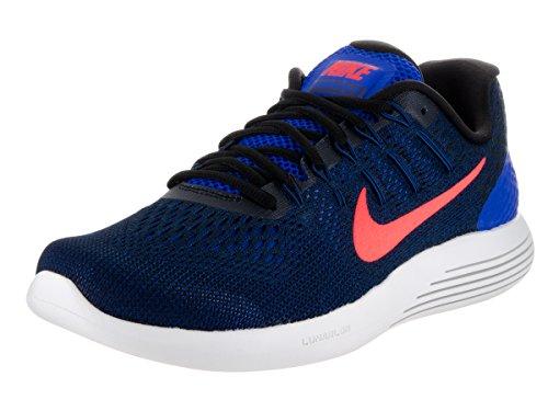 Nike Herren Lunarglide 8 Laufschuhe, Schwarz (Schwarz/Anthrazit/Weiß), 44.5 EU