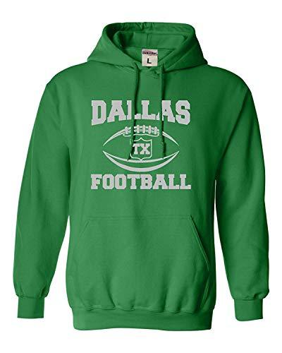 ShiXiShiQuFangRong Kapuzenpullover für Erwachsene und Jugendliche Sweatshirt von Dallas in Texas Gr. X-Large, Mehrfarbig