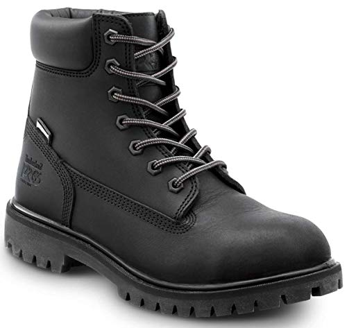 Timberland PRO 6IN Direct Attach Women's, Black, Soft Toe, EH, MaxTrax Slip Resistant, WP/Insulated Boot (6.5 M)