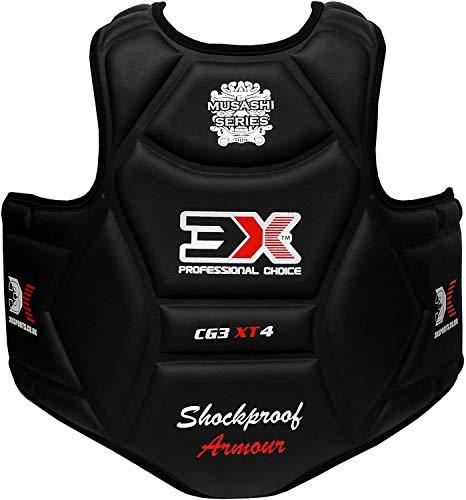 3X Professional Choice Boxen Brustschutz Rippenschild-Rüstung Taekwondo Körperschutz Krav MAGA MMA Körperschutz Kampfkunst