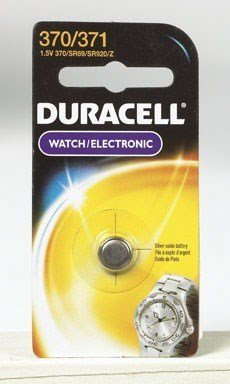 Duracell Watch And Electronic Battery 1.5 V Model No. 370/371 Carded by Duracell Div. Of P & G