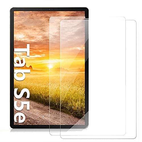 [2 Pack] KATUMO Screen Protector voor Samsung Galaxy Tab S5e 10.5 inch (SM-T720 / SM-T725), Clear High Definition Tempered Glass Film, 2-Pack