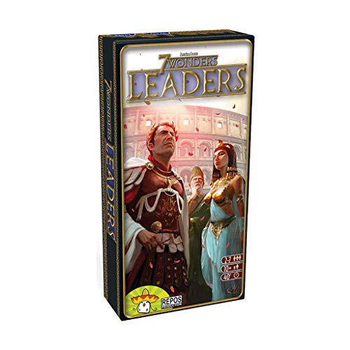 Repos Production- 7 Wonders: Leaders - Varios Idiomas, Color (Asmodee RP7WEX01)
