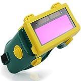 LAIABOR Occhiali Protettivi per Saldatura Occhiali per Saldatore Solare Flip Up Lens Protezione degli Occhi Tig Mig MMA, Livello di Oscuramento 9-13,Verde