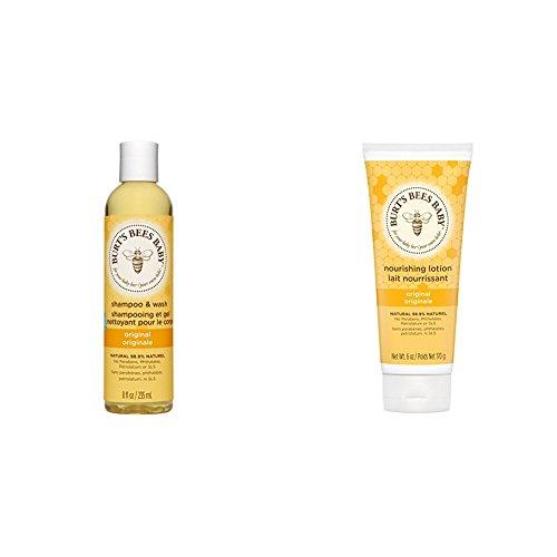 Burt's Bees Baby Bee Shampoo and Wash & Baby Bee Original Nourishing Lotion...