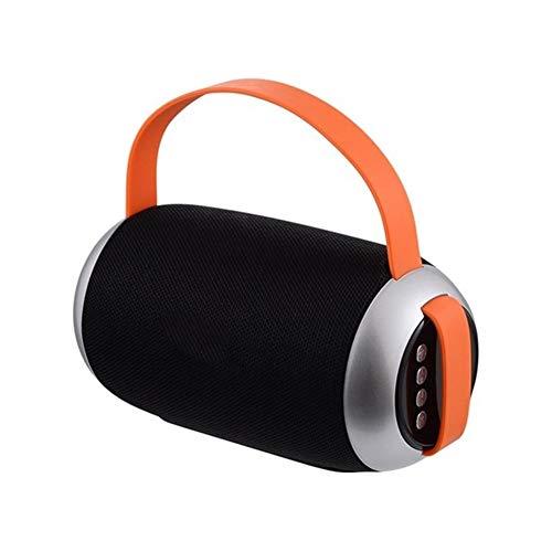 XFSE Schwarz tragbares Bluetooth-Lautsprecher wasserdichtes drahtlosen Lautsprecher Surround-Sound-System Stereo-Musik im Freien Lautsprecher