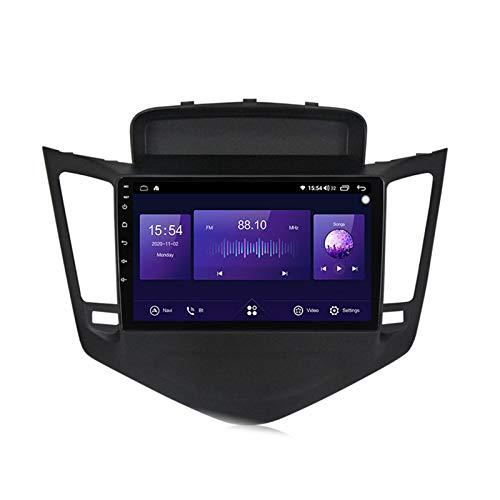 ADMLZQQ para Chevrolet Cruze 2009-2014 Android Car Radio Radio Double DIN GPS Navi Receptor de Video con Pantalla táctil de 9 Pulgadas Reproductor Multimedia con 4G DSP Carplay,7862,4+64G
