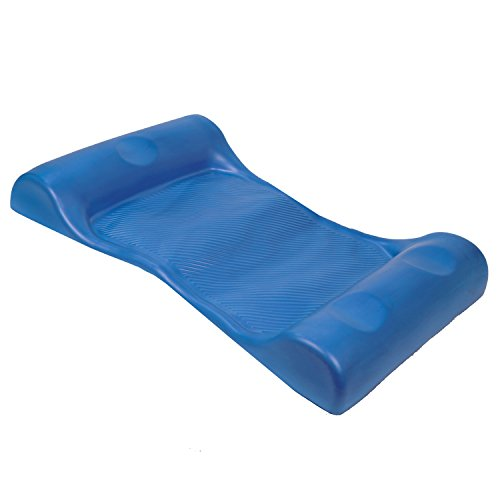 SwimWays Aquaria Aqua Hammock Lounge - Durable Aqua Cell Foam Pool Float - Blue