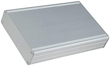 AKG-69-24-100-ME kapsling med panel AKG X69 mm Y100 mm Z24 mm aluminium