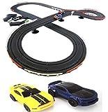 JJ_TOYS Mustang Challenge Slot Car Road Race Set Ho Scale