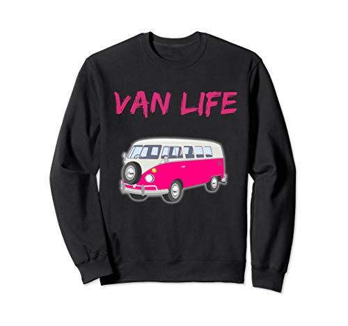Van Life Pink Bus