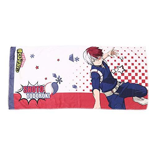 redCherry Anime My Hero Academia Handtücher Super Saugfähigen Handtuch Waschlappen für Bad Spa Gym Sportwagen Küche(H02)
